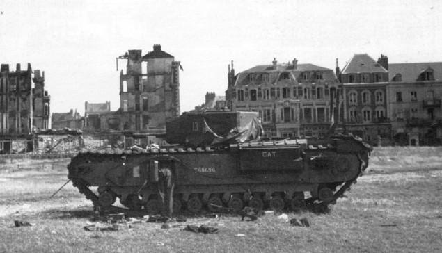 Los Sonidos de la Batalla de Dieppe.
