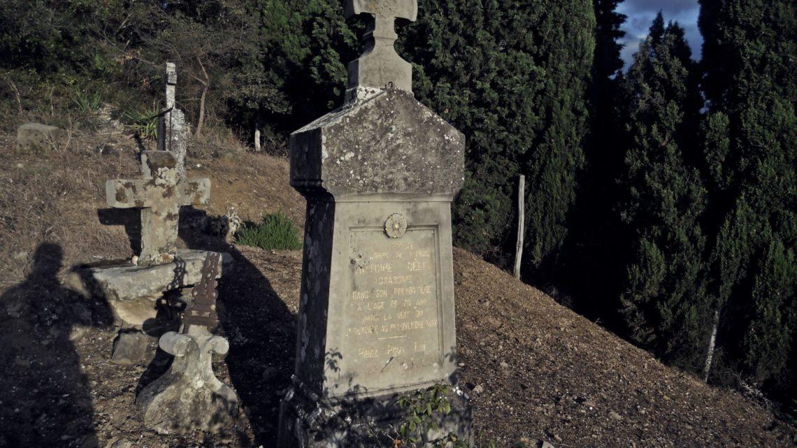 APÉNDICE IV, Ruta al cementerio de Coustaussa y la tumba de Pontils…